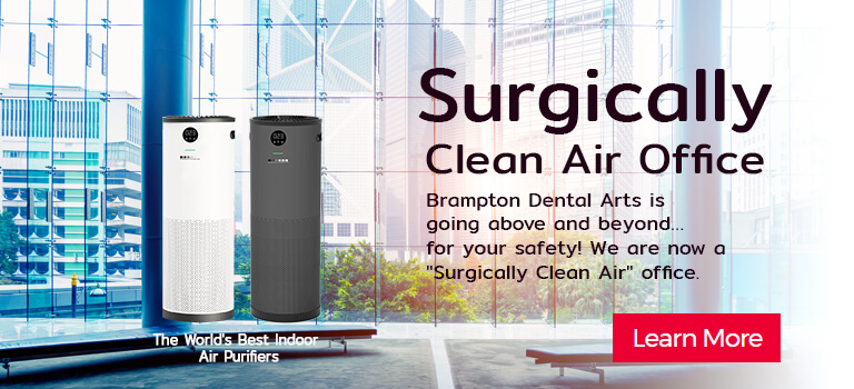 We are now a Surgically Clean Air office.